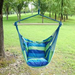 Rope Chair Swing Spandex Covers For Sale Uk Hanging Hammock Porch Seat Patio Details About Camping Portable
