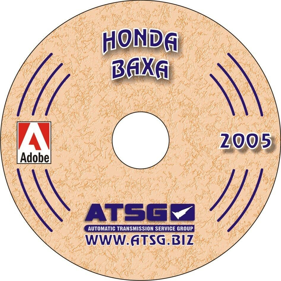 hight resolution of details about honda baxa atsg rebuild manual m6ha accord transmission transaxle overhaul book