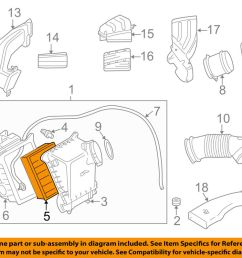details about audi oem 04 07 s4 engine air cleaner filter element 079133843a [ 1000 x 798 Pixel ]
