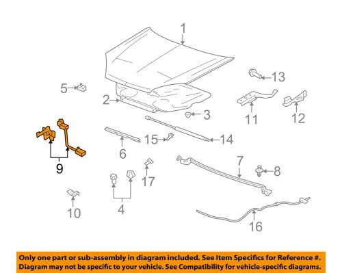 small resolution of details about saturn gm oem 07 09 aura hood lock latch 20772159