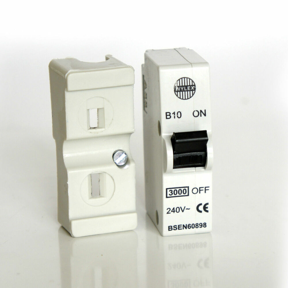 hight resolution of details about wylex b10 10a plug in mcb