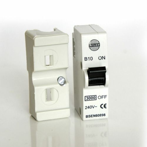 small resolution of details about wylex b10 10a plug in mcb