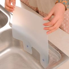Splash Guard Kitchen Sink Albuquerque Cabinets Anti Water Splatter Prevent Board Useful Details About Dam New