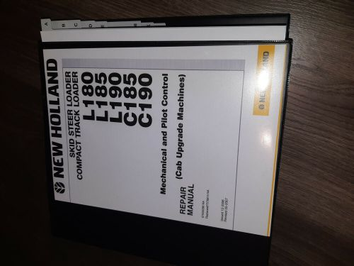small resolution of new holland c185 c190 l180 l185 l190 skid steer compact loader service manual ebay