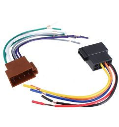 details about universal car stereo female socket radio iso wire harness adapter connector new [ 1000 x 1000 Pixel ]