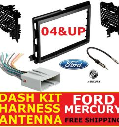details about 2004 up ford mercury car radio stereo dash kit wire harness antenna adapter [ 1000 x 1000 Pixel ]