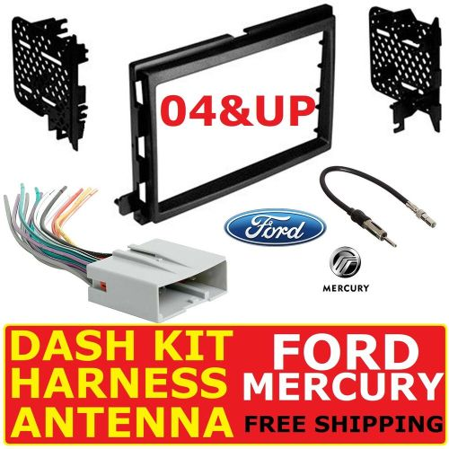 small resolution of details about 2004 up ford mercury car radio stereo dash kit wire harness antenna adapter