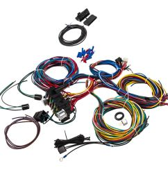 details about wiring harness 21 circuit universal hot rod extra long wires kit for coil acc [ 1000 x 1000 Pixel ]