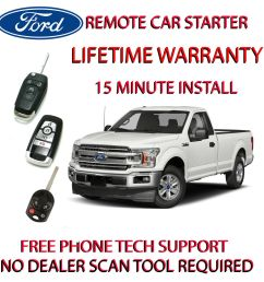 details about 2017 ford f150 plug play remote starter includes parking light harness [ 1000 x 1000 Pixel ]