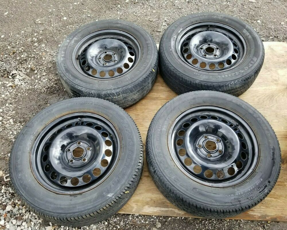 hight resolution of details about 11 12 13 14 15 chevrolet cruze steel rim wheel tire 215 60 r16 6 5jx16 h2 oem