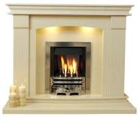 Sheridan Marble Fireplace Surround 54 or 48 inch wide | eBay