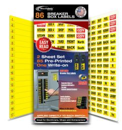 details about circuit breaker labels for home and shop electrical box apply right to switch  [ 1000 x 1000 Pixel ]