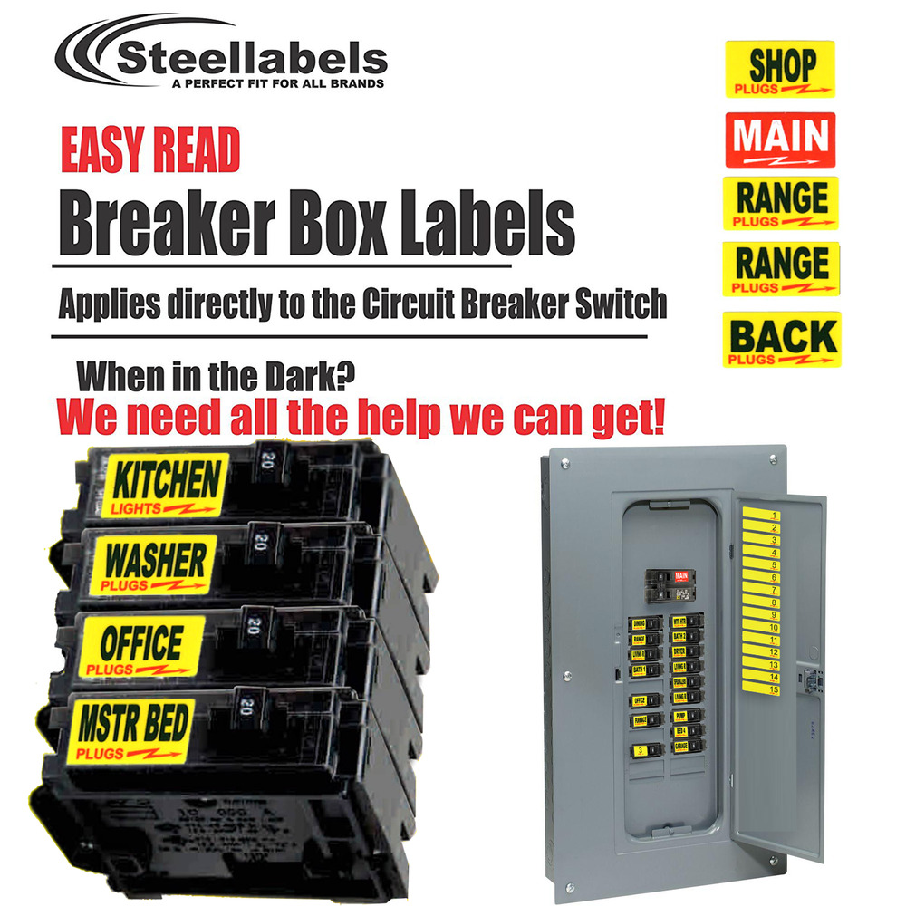 medium resolution of details about circuit breaker labels for home and shop electrical box apply right to switch