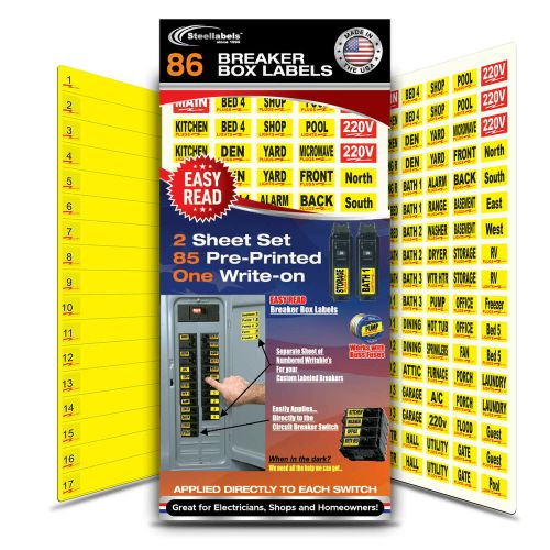 small resolution of details about circuit breaker labels for home and shop electrical box apply right to switch