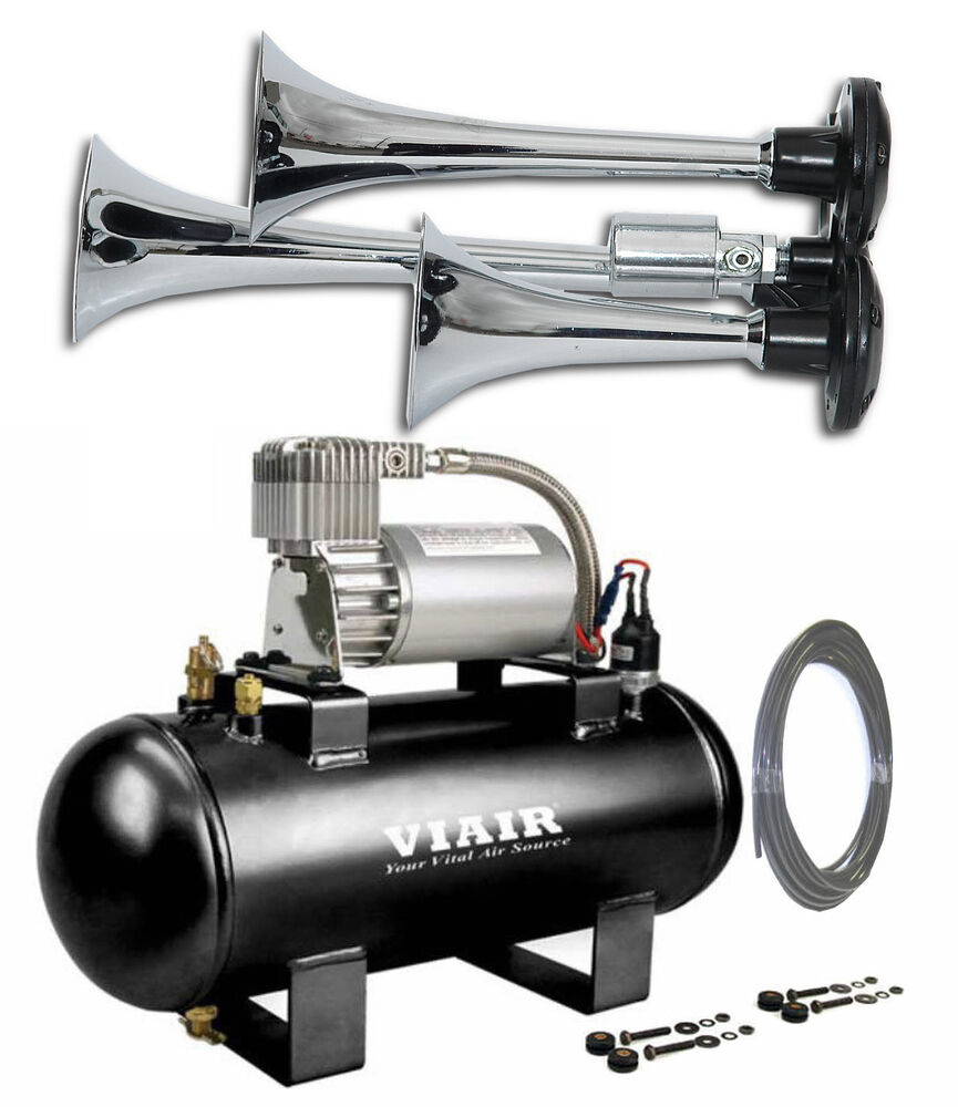 hight resolution of details about train air horn viair air kit ford f150 f250 f350 f450 135db 120psi air system