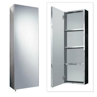 Stainless Steel 900mm x 300mm Tall Wall Mounted Bathroom ...
