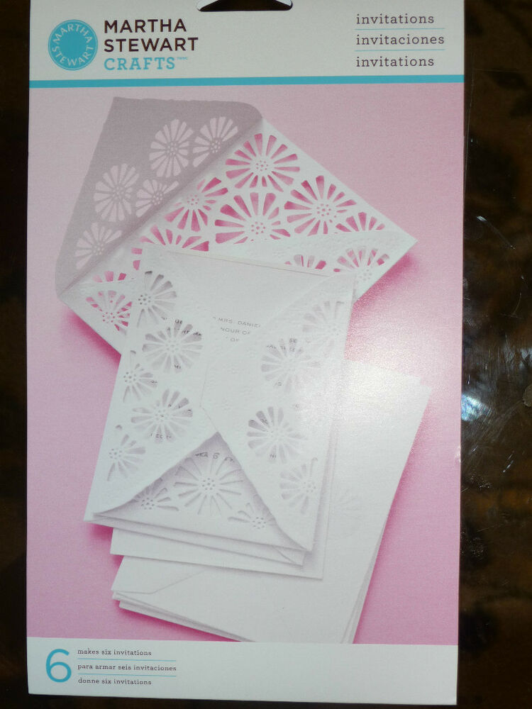 Martha Stewart Crafts Formal Invitations Cards Brand New