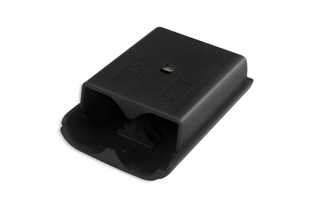 Xbox 360 Wireless Controller Black Battery Back Cover Pack