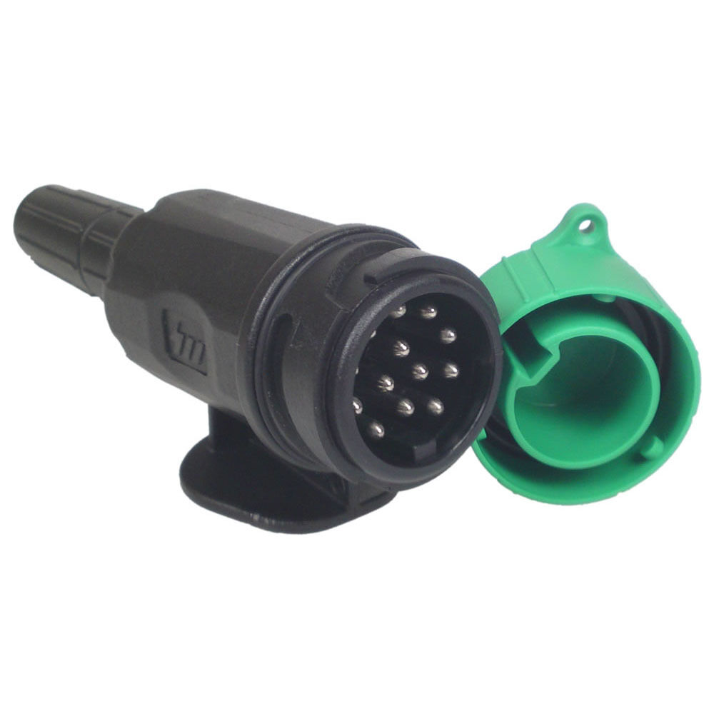 The Connections For A 13 Pin Towing Socket Seen From The Socket Plug