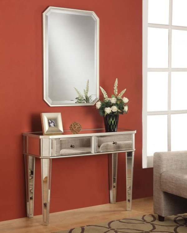 Contemporary Console Tables for Entryway Mirror