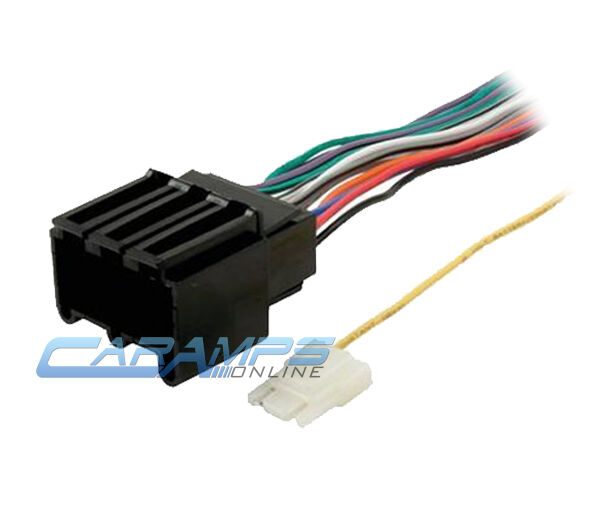 Radio Wiring Harness Adapter On Cadillac Deville Radio Wiring Diagram