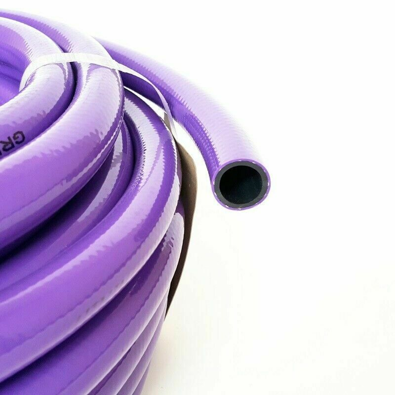 Purple recycle SULLAGE reclaim grey garden water Hose 18mm