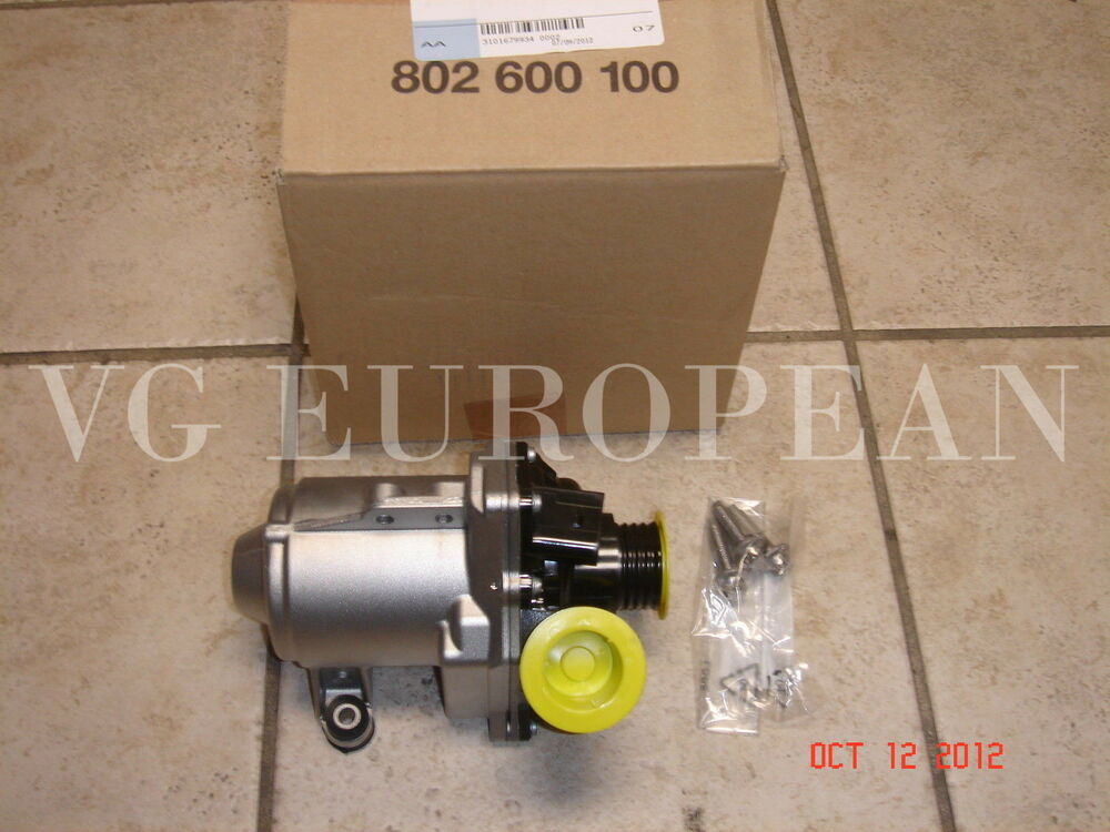 Bmw Engine Water Pump Electric Bolts Turbocharged Engine Genuine