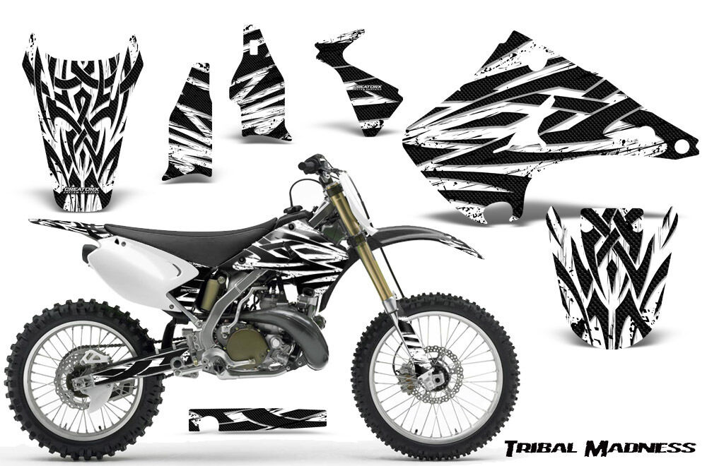 KAWASAKI KX125 KX250 03-16 GRAPHICS KIT DECALS CREATORX