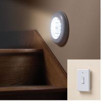 Cordless Electric Light With Remote, Ceiling Or Wall Light