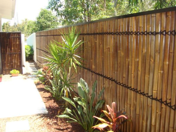 bamboo fence panels screens