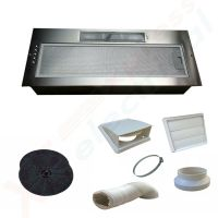 NEW 750MM Kitchen Cooker Canopy Extractor Hood Fan **TWIN ...