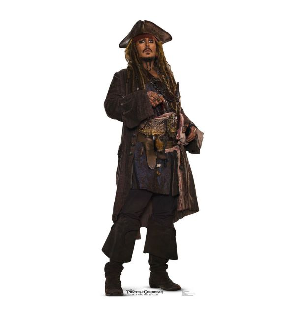Pirates of the Caribbean Jack Sparrow Cardboard