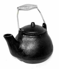 Cast Iron Humidifier Kettle Fireplace Kettle Hearth Tea ...