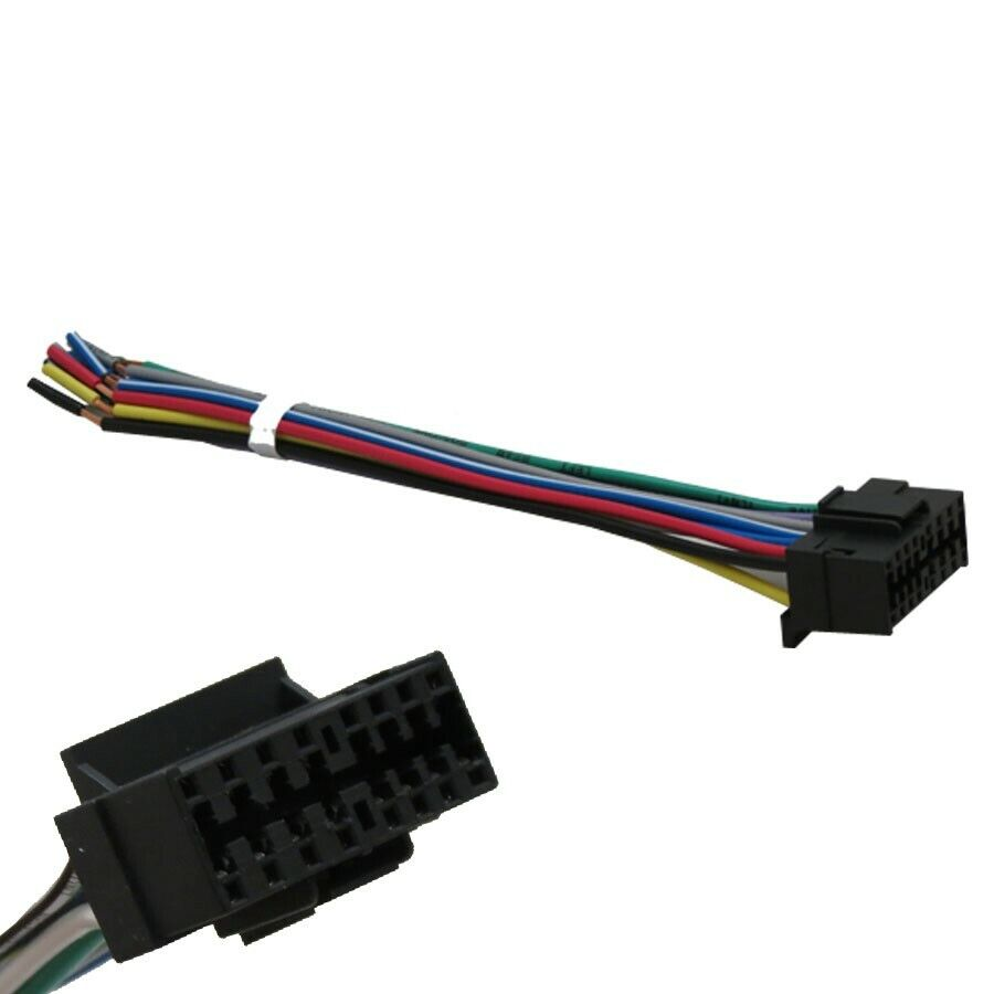 hight resolution of details about sony 16 pin wiring harness for select sony headunits stereos radios