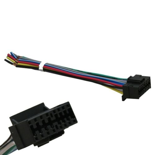 small resolution of details about sony 16 pin wiring harness for select sony headunits stereos radios