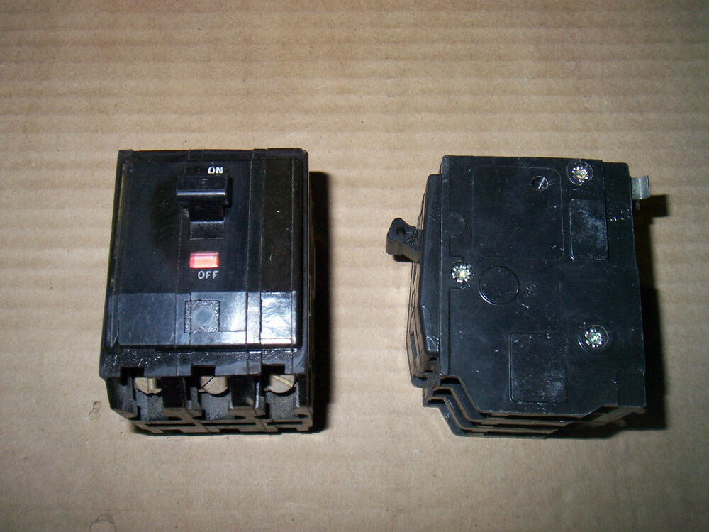 Used Circuit Breakers Square D 15 Amp Q0115 Circuit Breaker Snap On