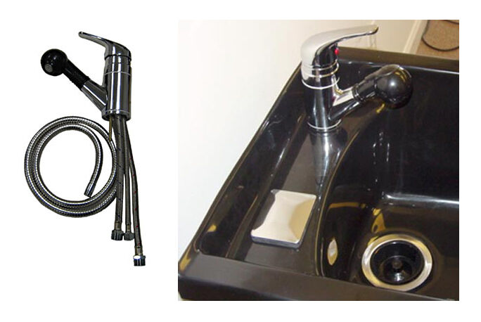 Marble Products 800 PULLOUT FAUCET W BUILT IN VACUUM BREAKER FOR SHAMPOO BOWL  eBay