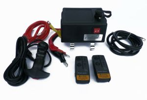 Ultimate Winch solenoid control Box with remotes , 500amp solenoid all cables | eBay
