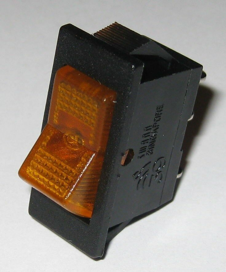 Lighted Spst Rocker Switch Wiring
