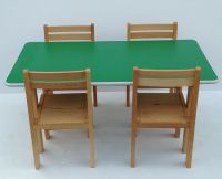 Kids Wooden stacking preschool classroom playgroup table ...
