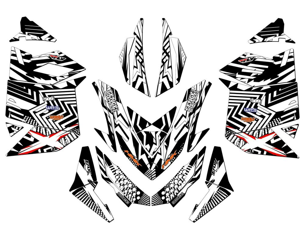 2010 2011 2012 2013 2014 SKI DOO XP ETEC E TEC GRAPHICS