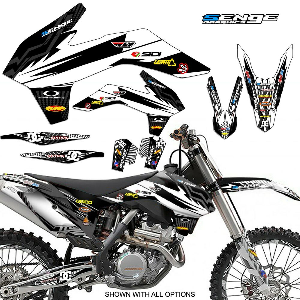 2016 2017 KTM XCF 125 200 250 300 450 525 530 GRAPHICS KIT