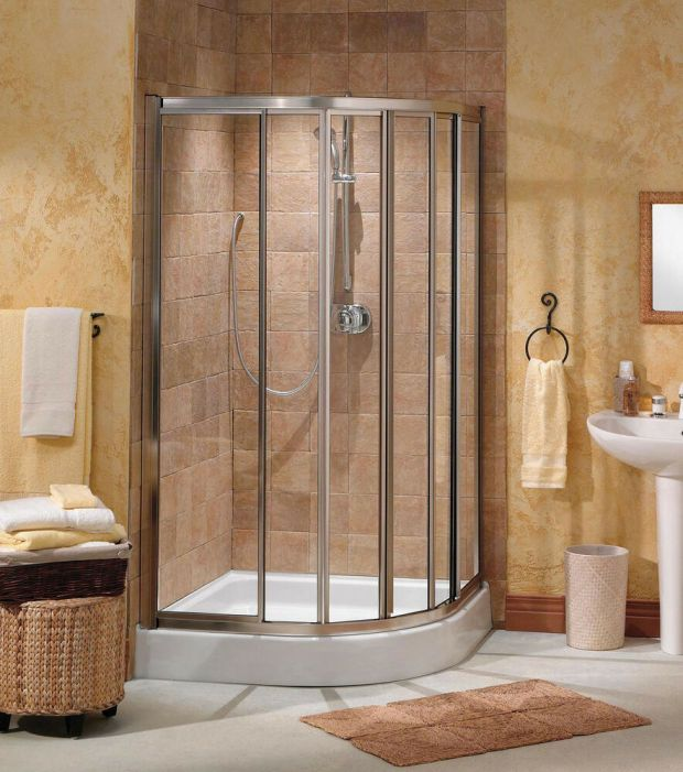 Corner Shower Doors - Home Design Ideas