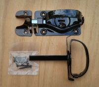 Whitcomb Barn Door Latch for Swinging Door, Shed Black ...