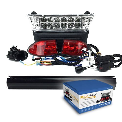 Wiring Diagram For Golf Cart Turn Signals Club Car Precedent Electric Golf Cart Deluxe Led Light Kit