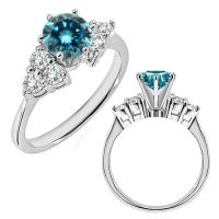 Blue Diamond Promise Rings - Porn Website Name