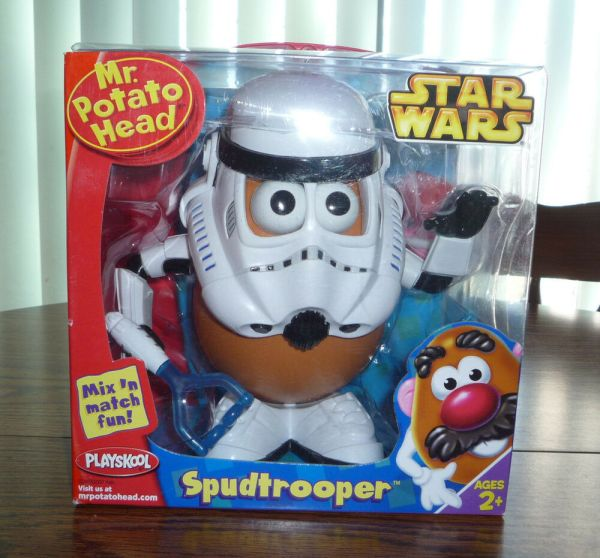 Playskool . Potato Head Star Wars Series Spudtrooper