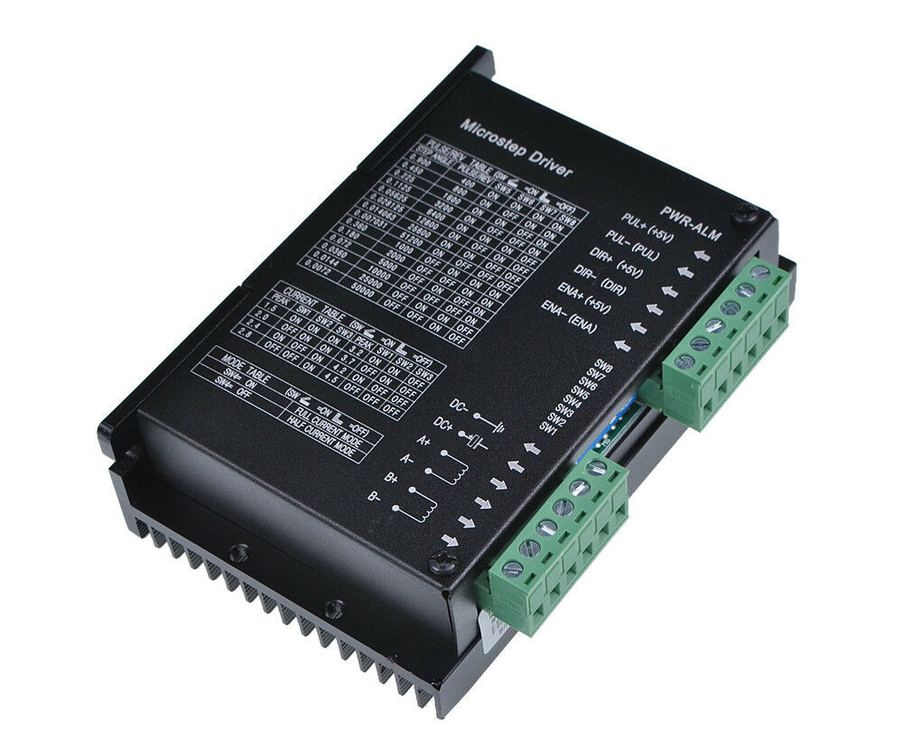 Basic Controls For The Stepper Driver