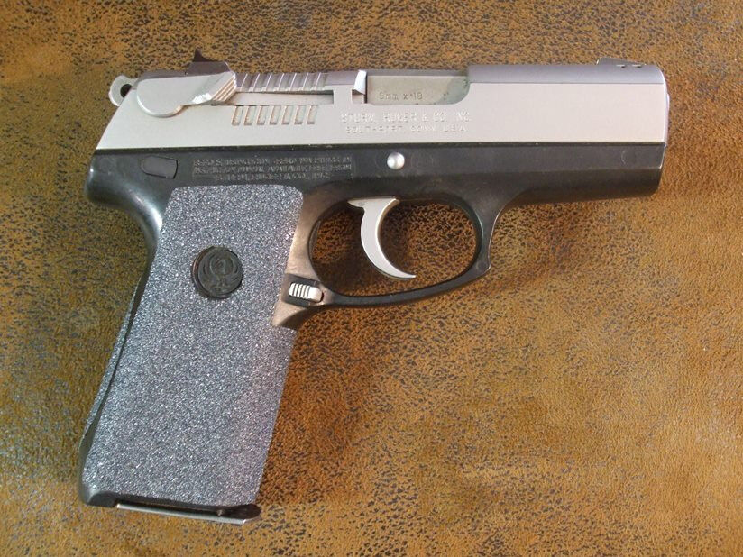 Sand Paper Pistol Grips For The Ruger P95 And Ruger P95dc