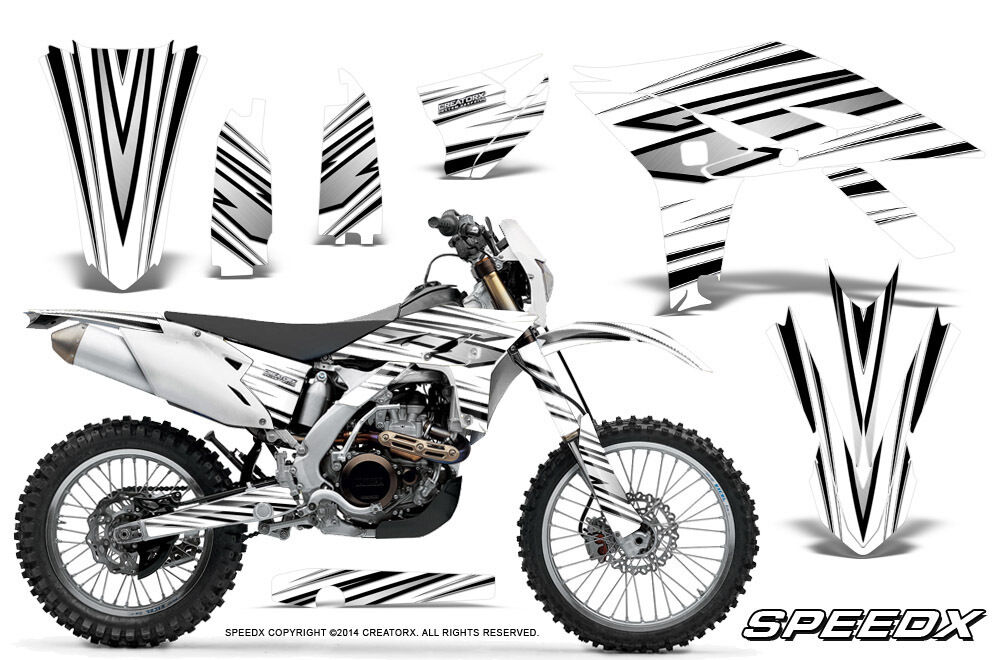 YAMAHA WR450F 2012-2013-2014 GRAPHICS KIT CREATORX DECALS